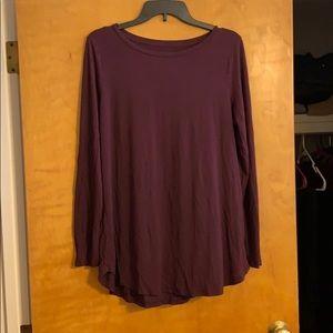 Aerie legging long sleeve tee size L!
